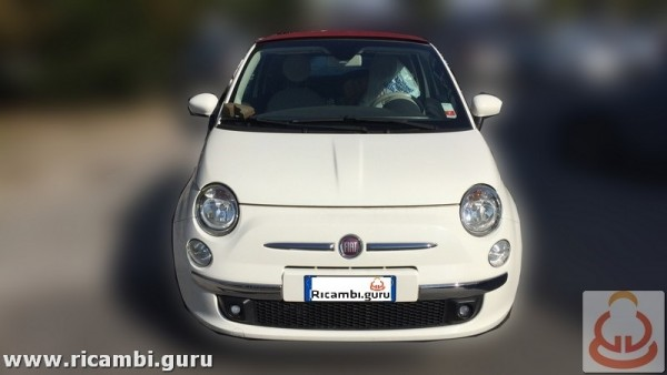 Fiat 500 cabrio del 2011