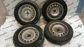 Cerchi in ferro Fiat Doblo'