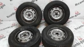 Cerchi in ferro Fiat ducato