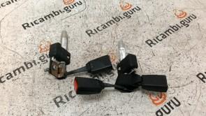 Cintura sicurezza Posteriori Mercedes classe c berlina