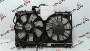 Radiatore acqua con elettroventole Suzuki sx4
