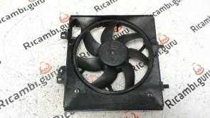 Ventola radiatore con carter Citroen c3