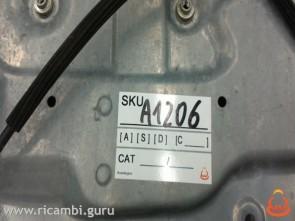 Telaio alzacristalli anteriore DX Seat Ibiza