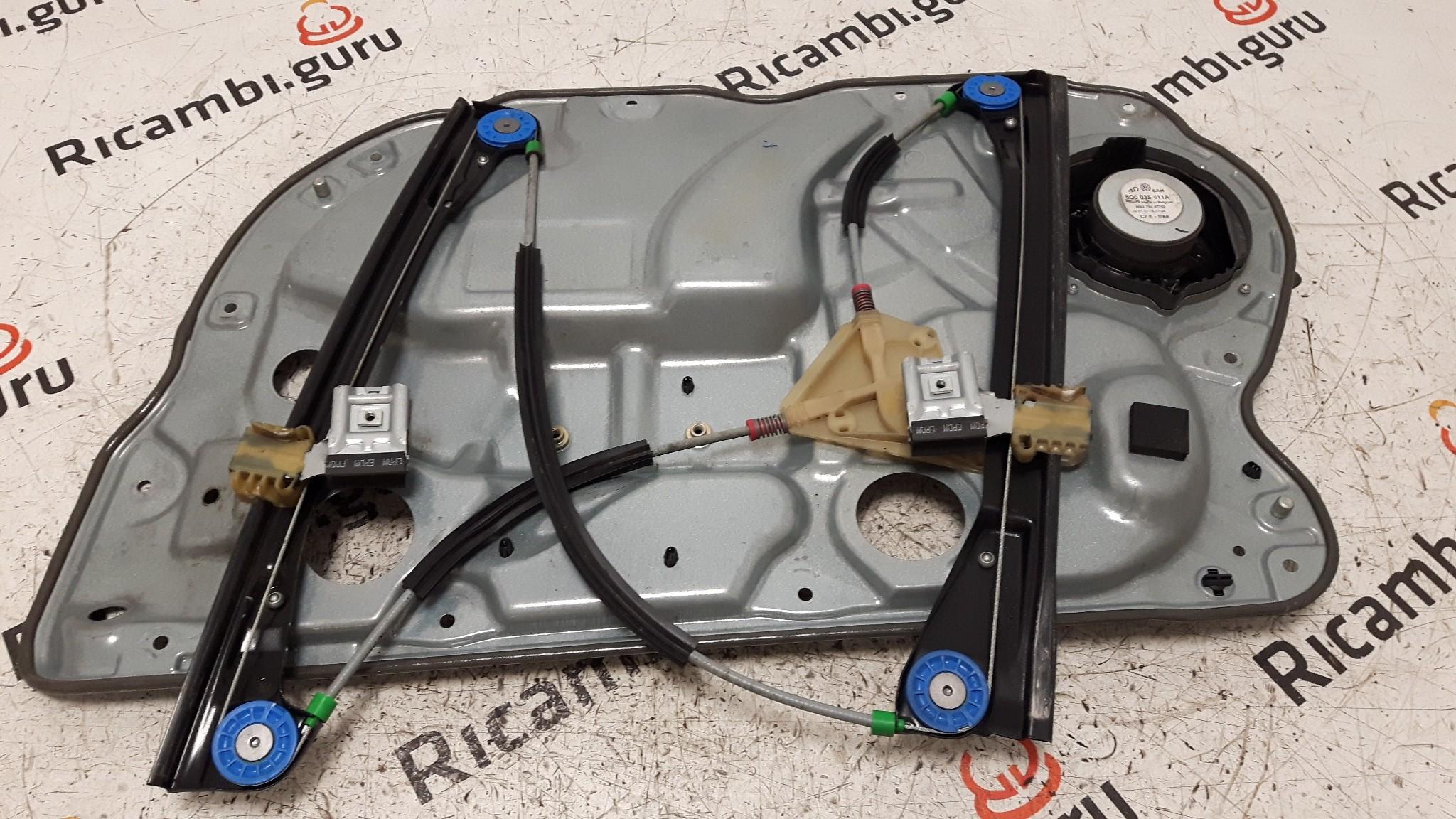 Telaio alzacristallo Anteriore Sinistro Volkswagen polo