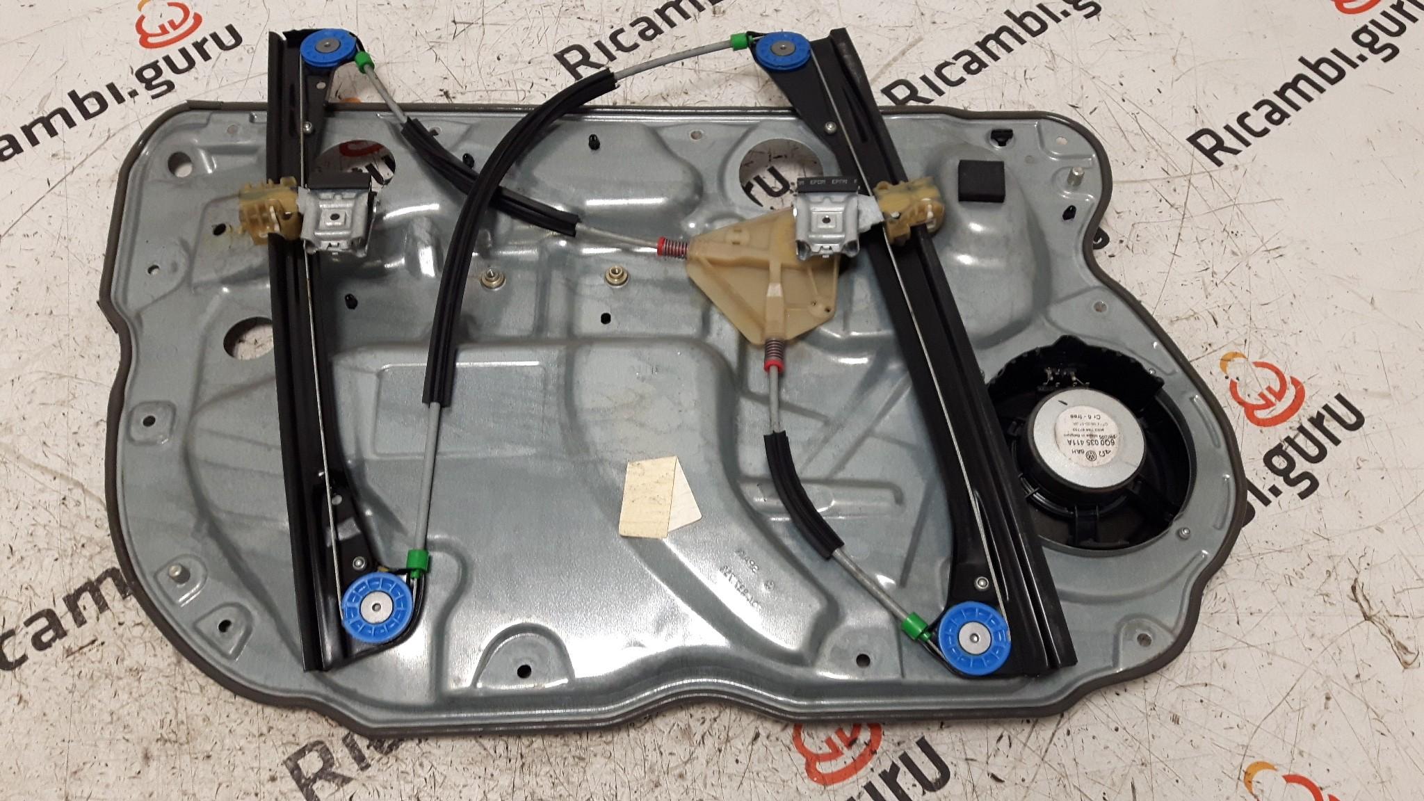 Telaio alzacristallo Anteriore Destro Volkswagen polo