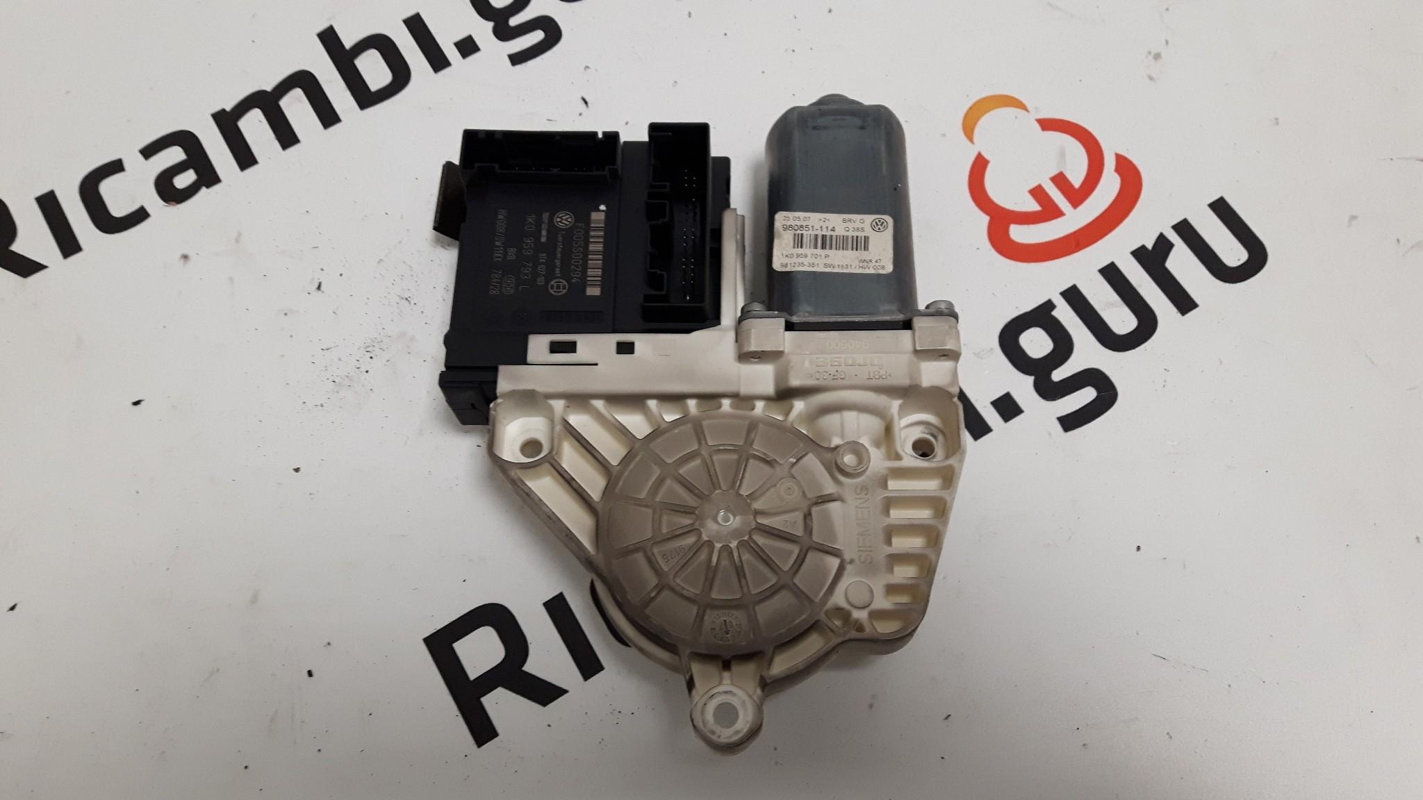Motorino alzacristallo Anteriore Sinistro Volkswagen passat