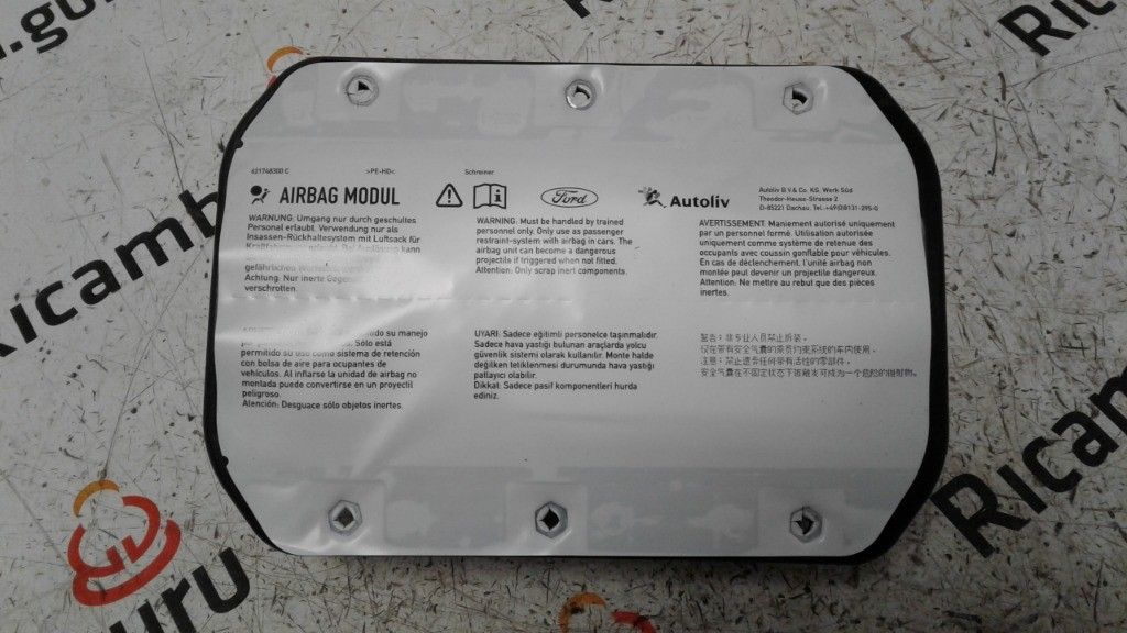Airbag passeggero Ford focus