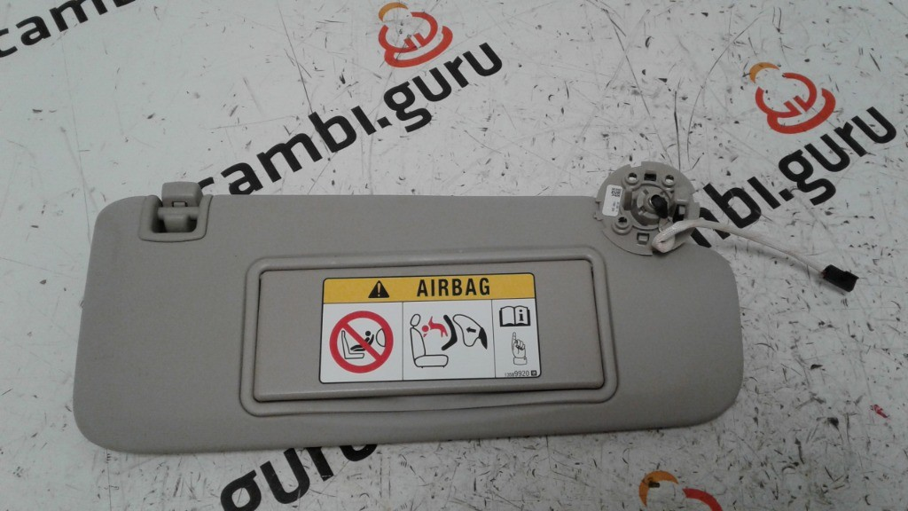 Aletta parasole Destra Opel insignia