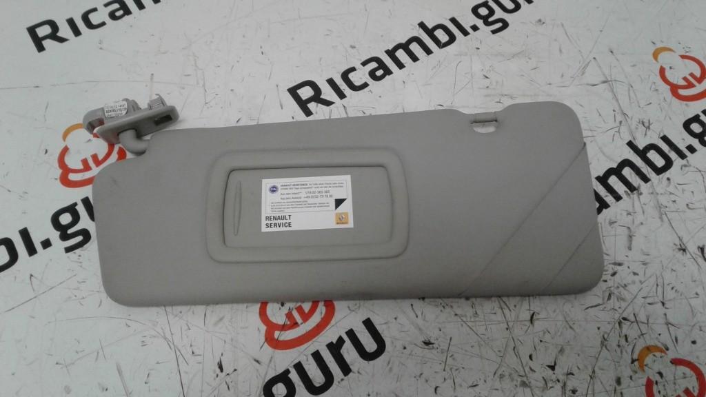 Aletta parasole Sinistra Renault megane
