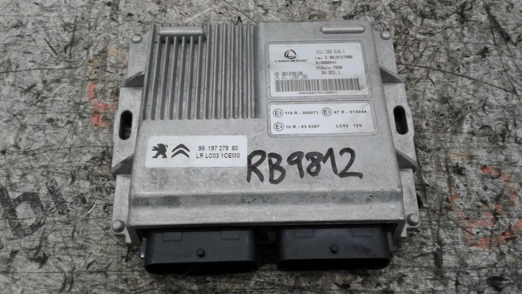 Centralina GPL Peugeot 208