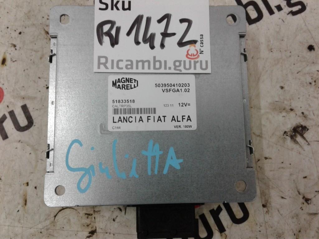 Centralina Derivazione Radio Alfa romeo giulietta