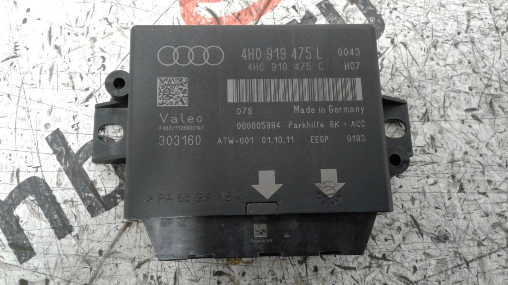 Centralina sensori parcheggio Audi a6