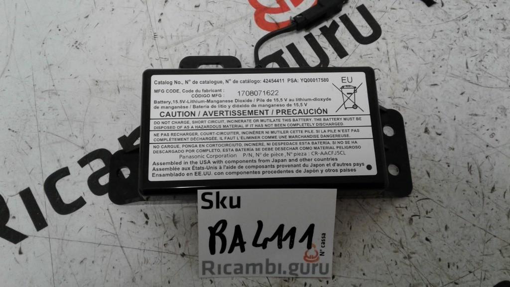 Modulo comunicazione batteria Opel insignia