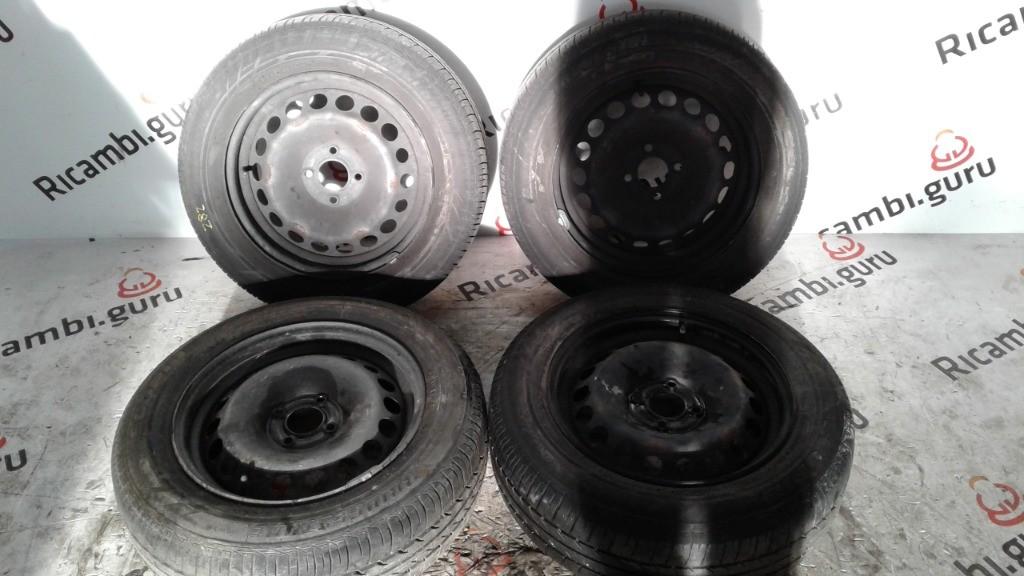 Cerchi in ferro Renault clio