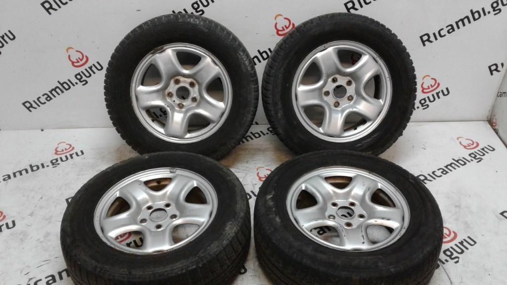 Cerchi in ferro Toyota rav 4