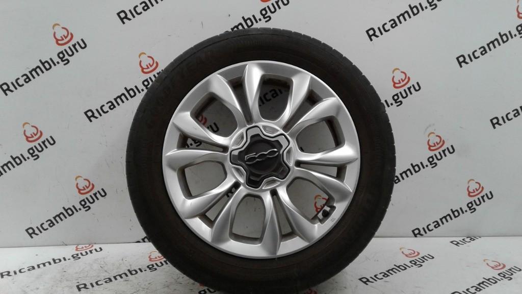 Cerchio in lega Fiat 500 x