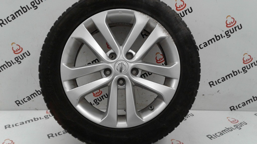 Cerchio in lega Nissan juke