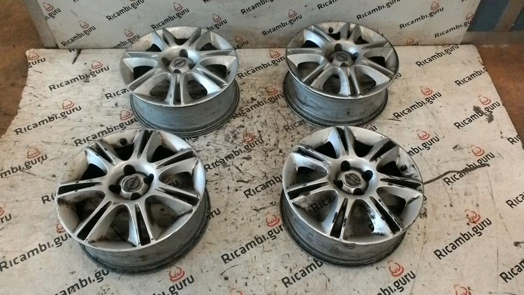 Cerchi in lega Opel corsa