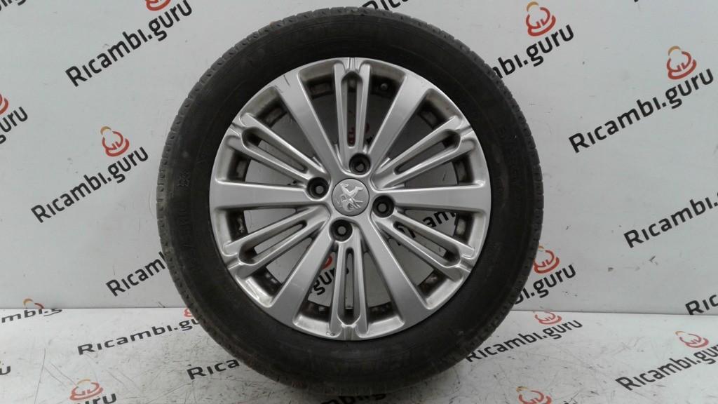 Cerchio in lega Peugeot 208