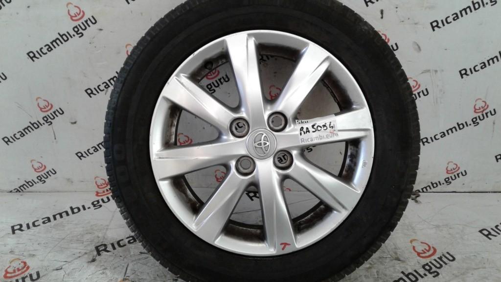 Cerchio in lega Toyota yaris