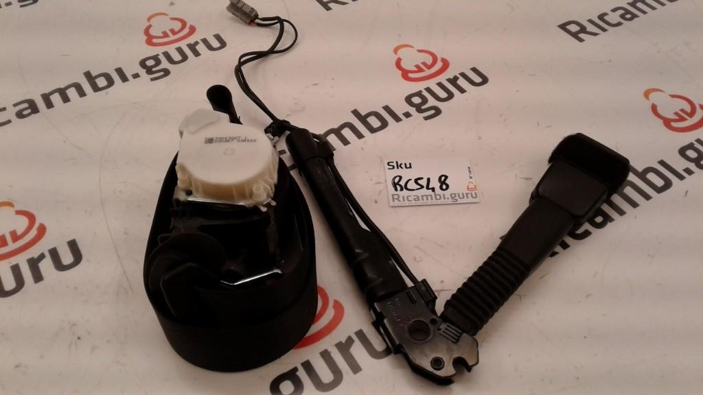 Cintura sicurezza Anteriore Sinistra Bmw serie 1 3 porte