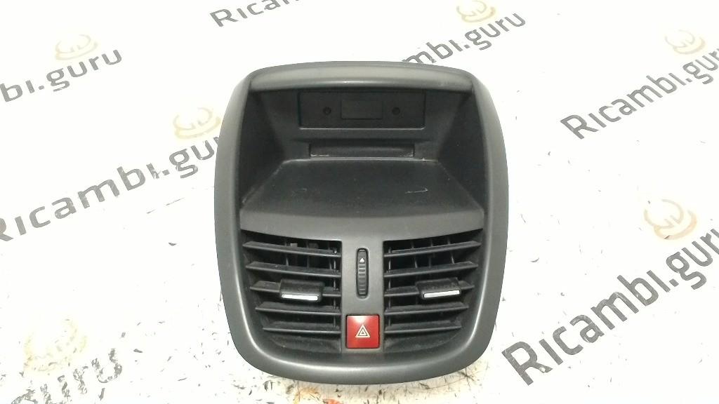 Console centrale Peugeot 207