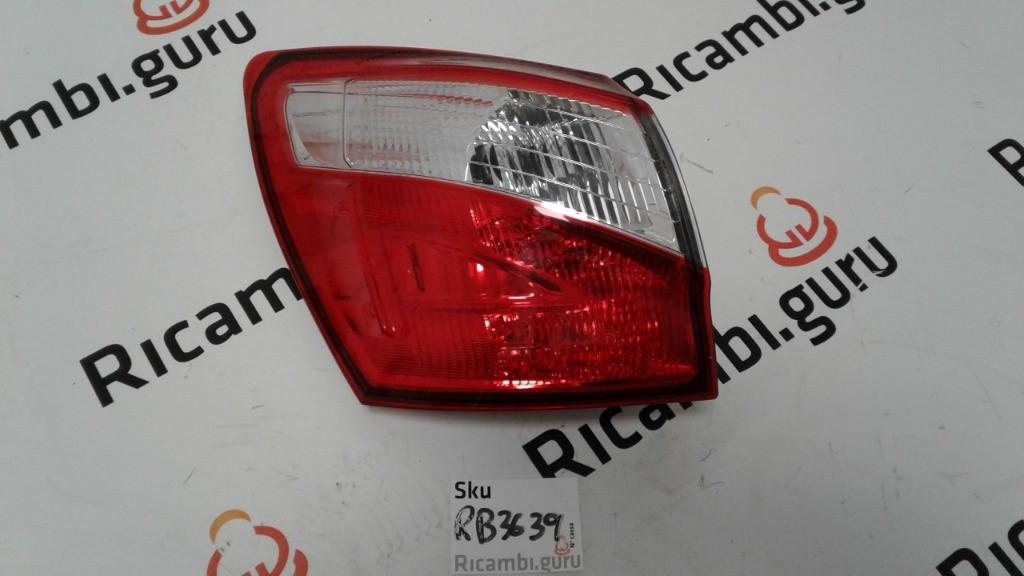 Fanale Posteriore Sinistro Nissan qashqai+2