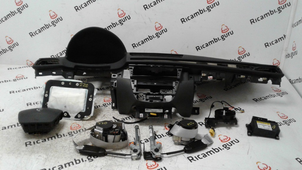 KIT airbag completo Renault megane