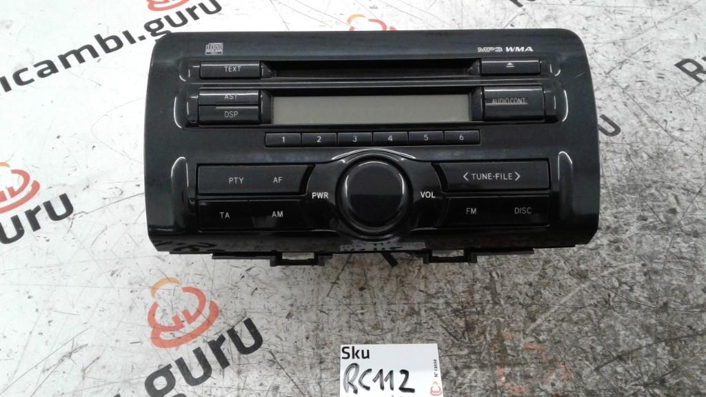 Radio Lettore CD Daihatsu materia