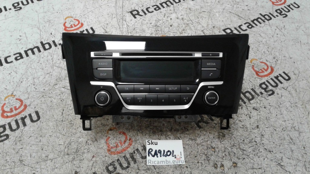 Radio Lettore CD Nissan qashqai
