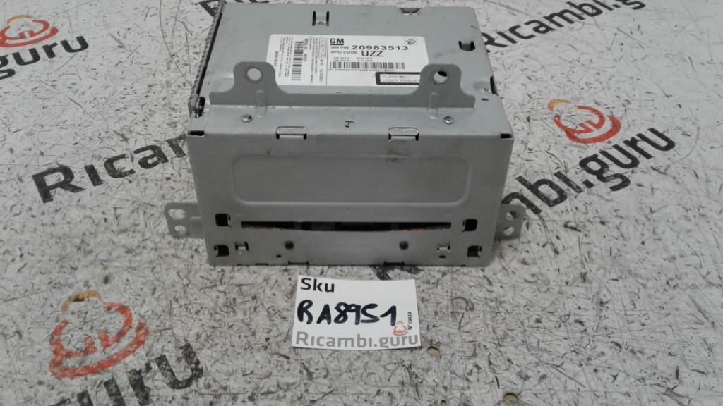 Radio Lettore CD Opel astra