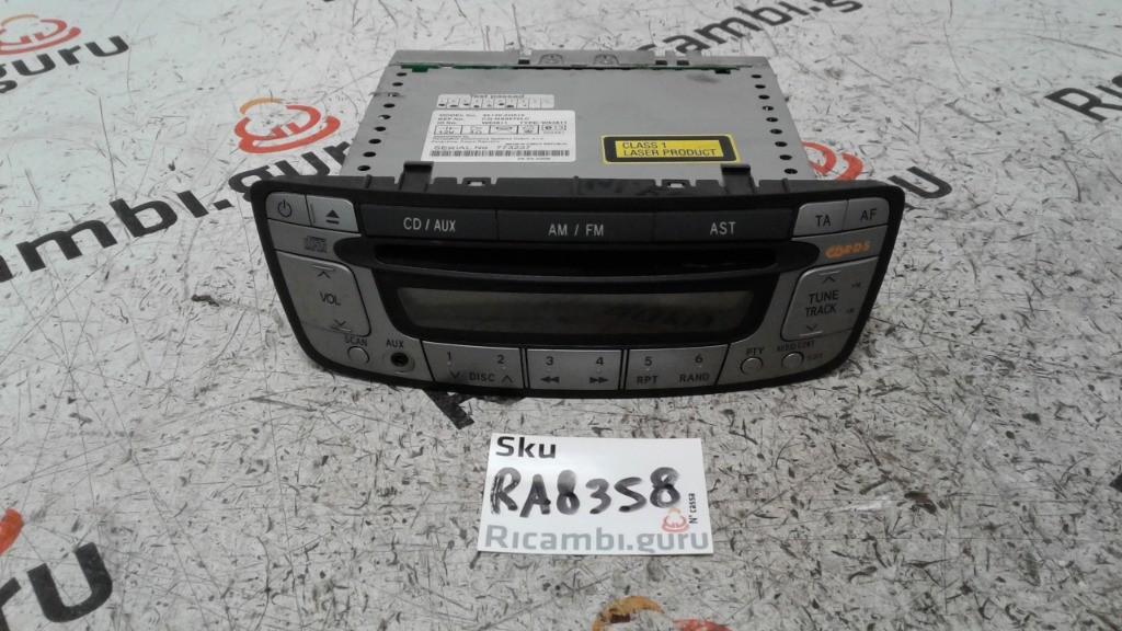 Radio Lettore CD Peugeot 107