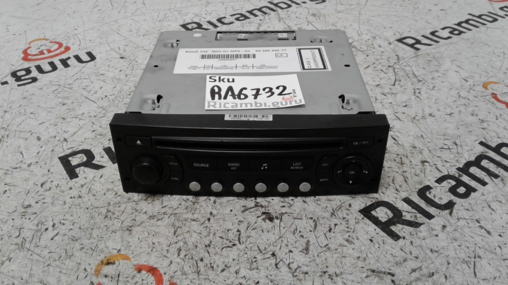 Radio Lettore CD Peugeot 5008