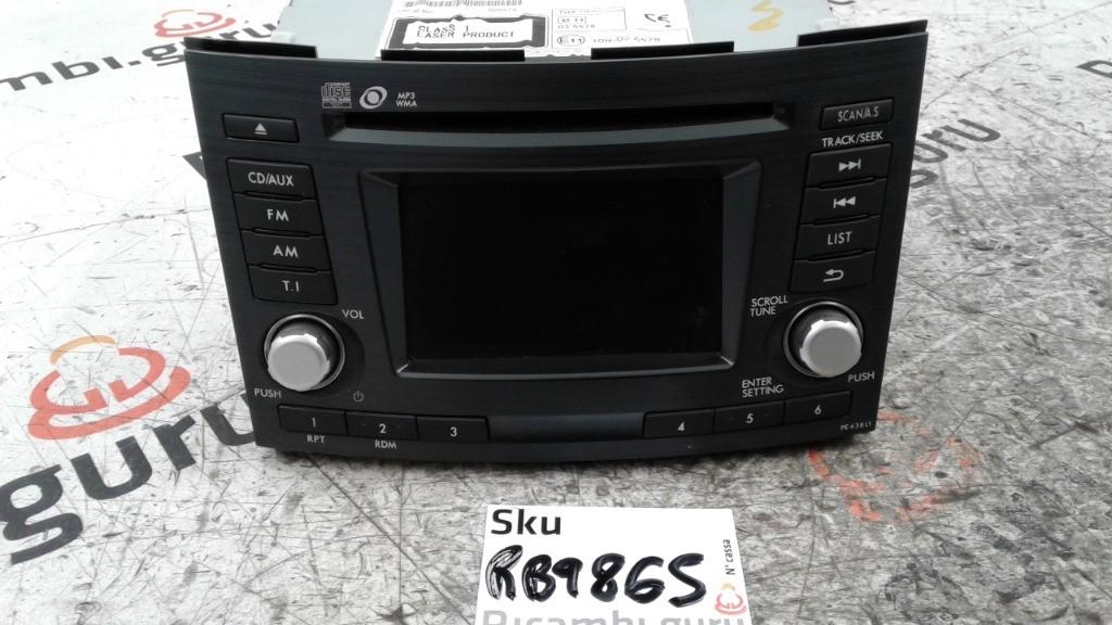 Radio Lettore CD Subaru outback