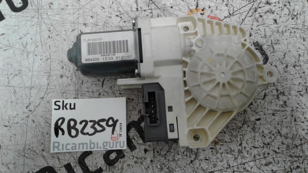 Motorino alzacristallo Anteriore Sinistro range rover sport