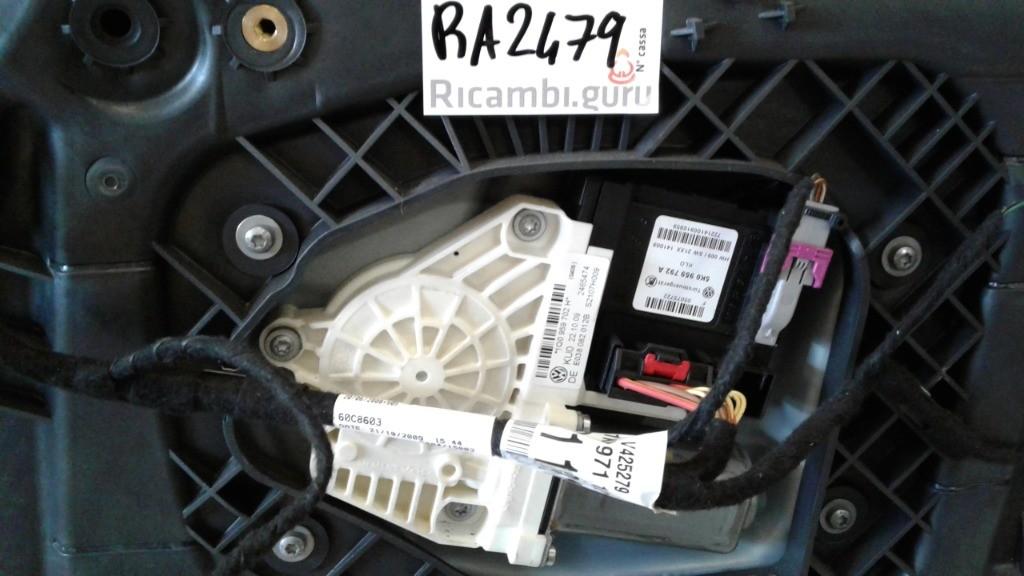 Motorino alzacristallo Destro Volkswagen scirocco