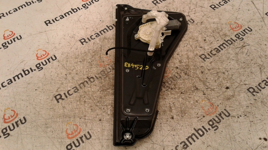 Motorino alzacristallo con Telaio Posteriore Destro Land rover discovery 3