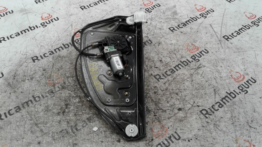 Motorino alzacristallo con Telaio Posteriore Destro Land rover freelander 2