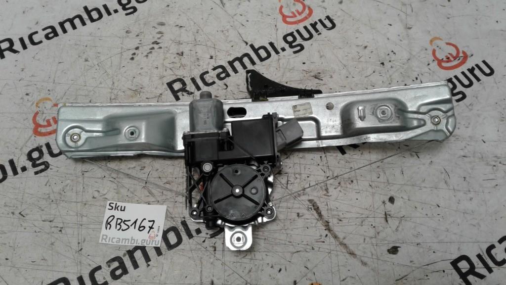 Motorino alzacristallo con Telaio Posteriore Destro Opel insignia