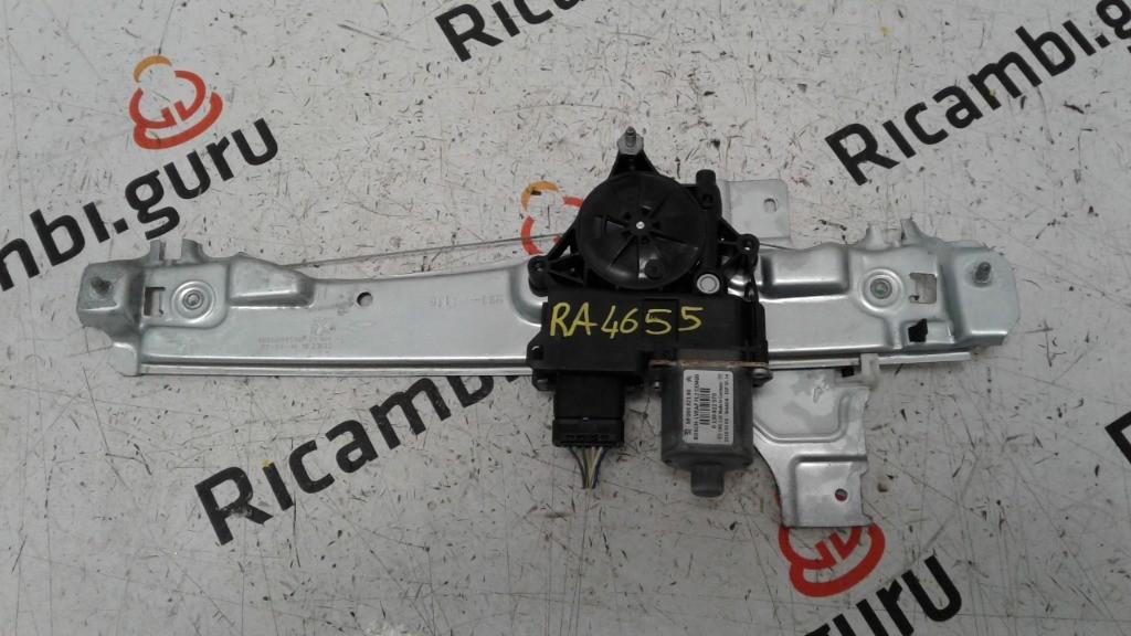 Motorino alzacristallo con telaio Posteriore Destro Peugeot 2008
