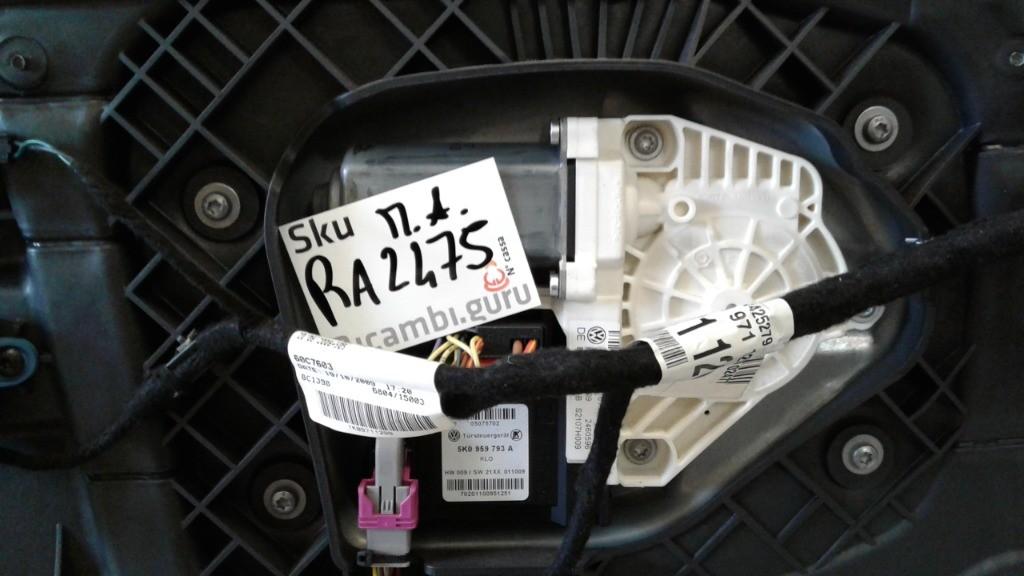 Motorino alzacristallo Sinistro Volkswagen scirocco