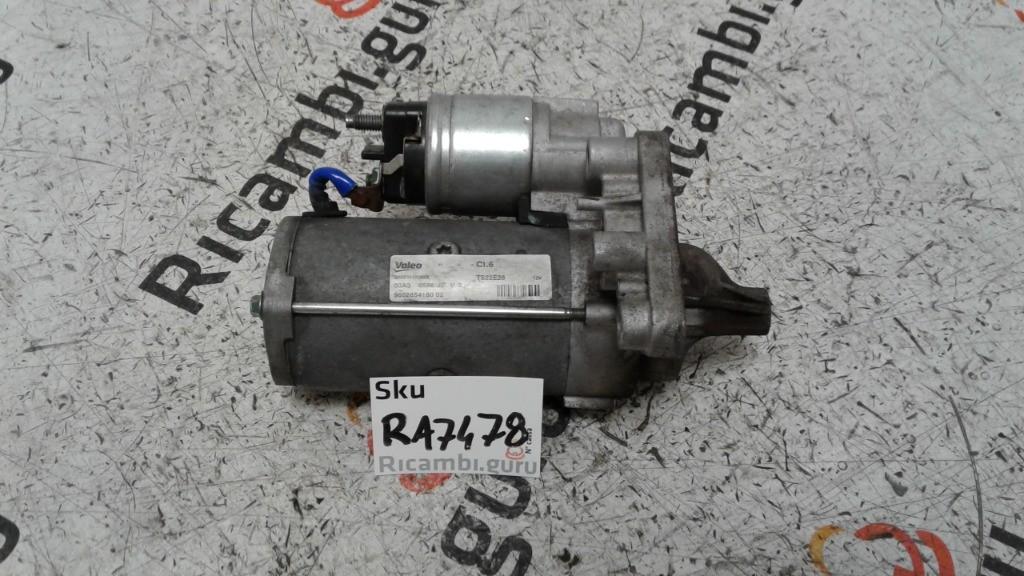 Motorino avviamento Citroen c3 picasso