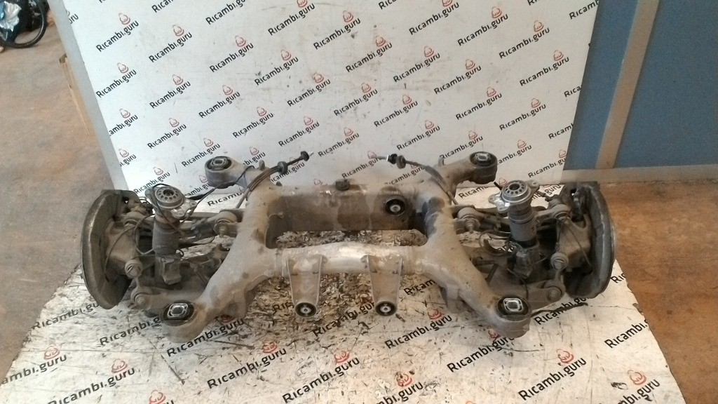 Ponte posteriore completo Bmw serie 5 gt
