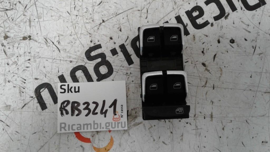 Pulsantiera Alzacristalli Anteriore Sinistra Audi a4 allroad