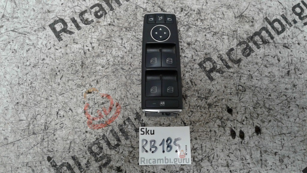 Pulsantiera Alzacristalli Anteriore Sinistra Mercedes classe e
