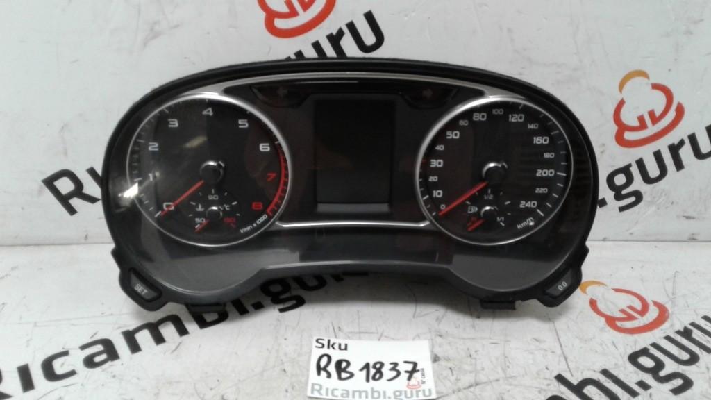 Quadro strumenti Audi a1 sportback
