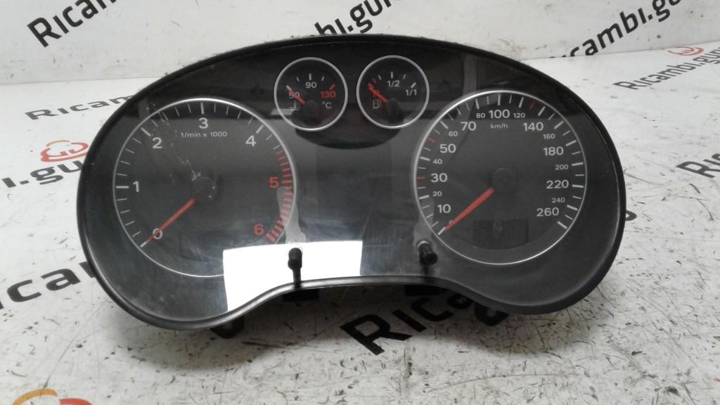 Quadro strumenti Audi a3