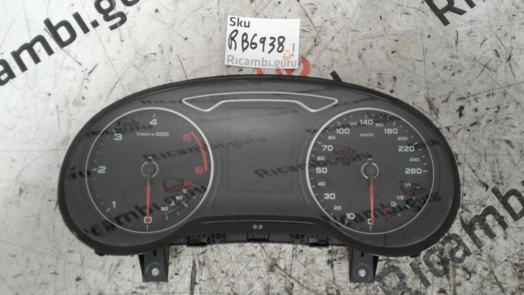 Quadro strumenti Audi a3 sportback