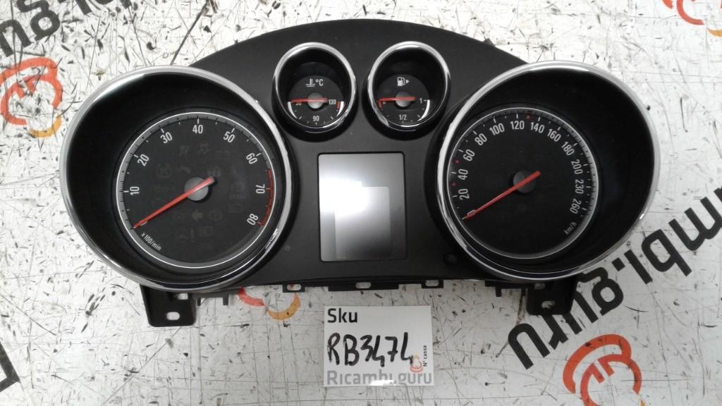 Quadro strumenti Opel astra
