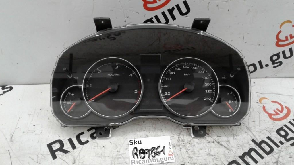 Quadro strumenti Subaru outback